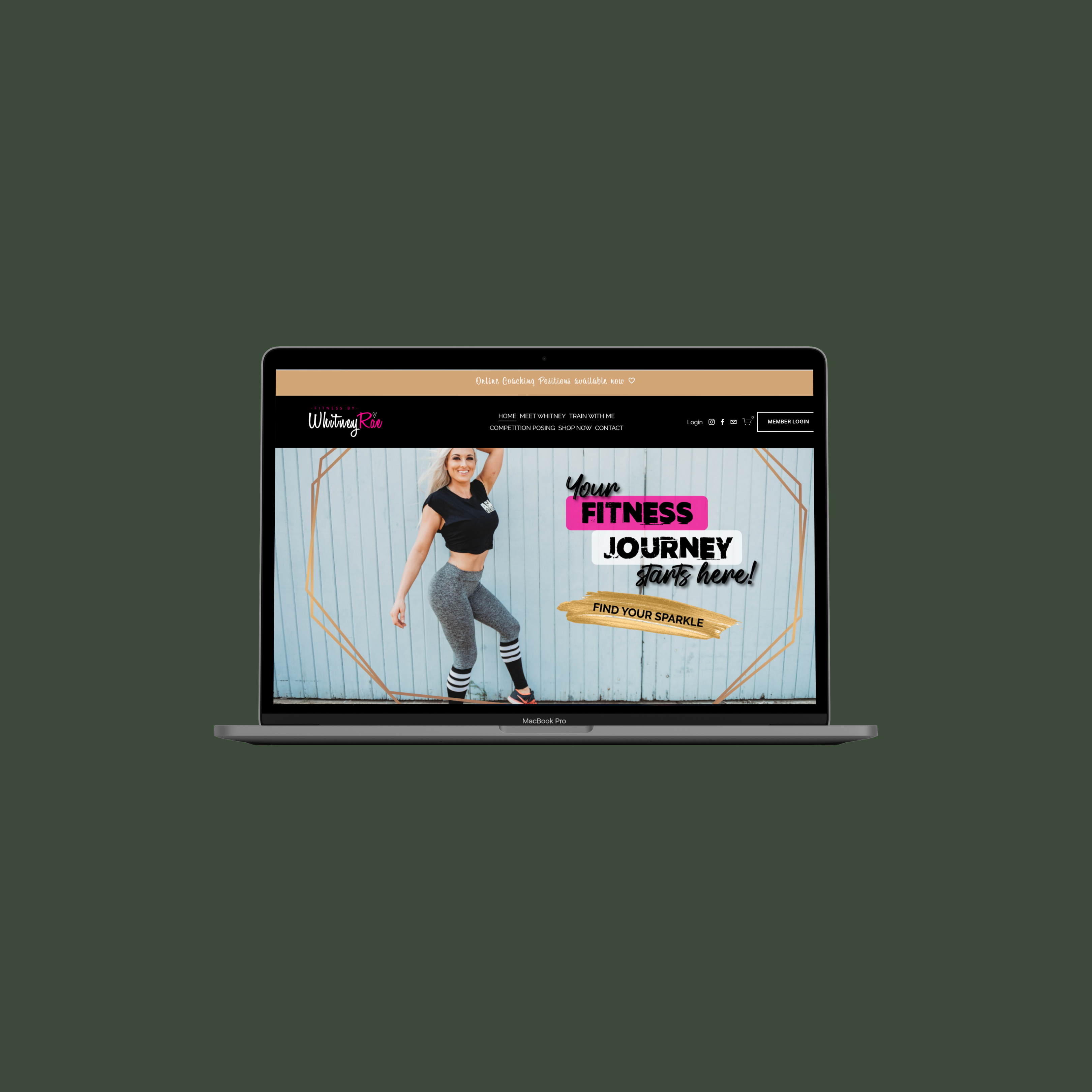 Fitness by Whitney Rae website